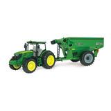 Ertl - John Deere 6210r Tractor With Frontier Grain 1/16