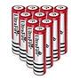 10 Baterias Recarregável 18650 5600mah 3.7v Lanterna Tát