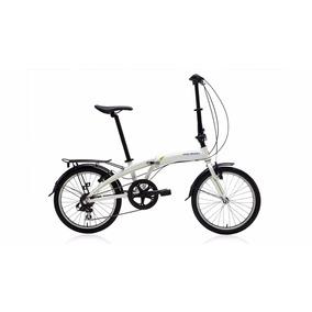 Bicicleta Polygon Urbano 3 Plegable Blanca
