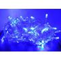 Pisca Natal Led 100 Lâmpadas Azul 8 Funções 110/127v 9m