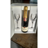 Champagne Taittinger Francesa Com Kit Com 2 Taça Personaliz