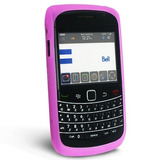 Oem Blackberry 9700 Onyx Bold 2 Pink Gel De Piel De Silicon