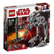 Lego Star Wars At-st Da Primeira Ordem