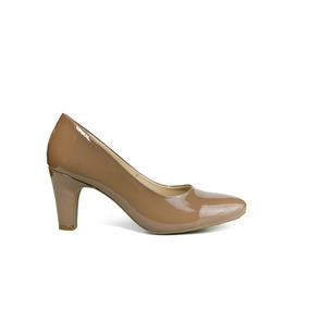 Trender Zapatilla Color Almendra Tacon 6 Cms