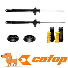 Kit 2 Amortecedores Traseiros Ford Ka 2007 A 2011 +kit+coxim