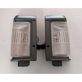 Lanterna Dianteira Aro Cinza Nissan Pathfinder Até 95 - Par
