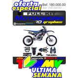 Calcomania Honda Yamaha Suzuki Ktm Motocross