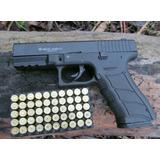 Pistola Glock Metalica Salvas Exacta A La Real 9mm