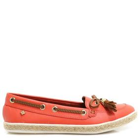 65a32956a1 Mocassim Feminino Mocassins - Sapatos Laranja no Mercado Livre Brasil