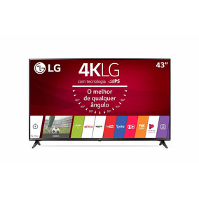 Smart Tv Led 43 Ultra Hd 4k Lg 43uj6300 Hdr Wifi Webos Só Rj