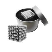 Cubo Magnetico Con 216 Bolitas De 5mm Iman Neodimio Neocube