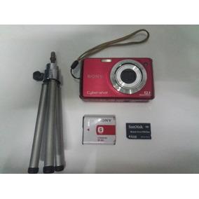 Camara Sony 12.1 Cybershot Con Bateria, Base, Y Memoria 4gb