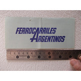 5029-pasaje (usado)ferrocarril Bs.as. Mar Del Plata Año 1984