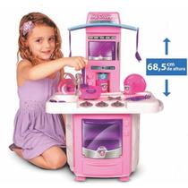 Cozinha Completa De Brinquedo Nova Big Cozinha 3 Anos