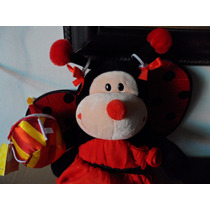 Peluche Precioso Oso Catarina Bug Insecto Build A Bear Toy