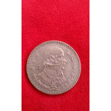 Moneda De Plata Antigua 1 Peso Morelos 1957 De Coleccion