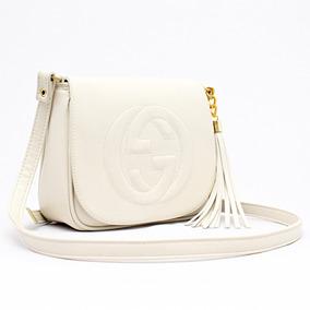 5c2eab1be2153 Bolsa Soho Gucci Branca - Calçados, Roupas e Bolsas no Mercado Livre ...