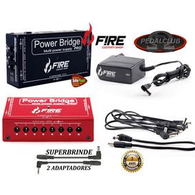 Cabo Fonte Fire Pedal 13 Pedais Power Bridge Pro 9v 12v 18v