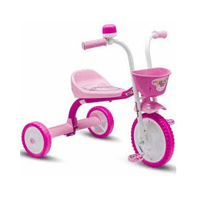 Triciclo 3 Rodas Infantil Menina You 3 Girl Nathor