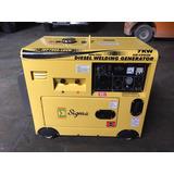 Generador Planta Eléctrica 7kw Soldadora Insonorizada Diesel