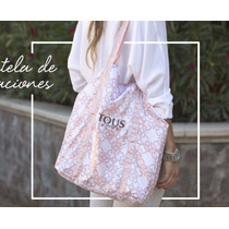 Tous Bolsa Original De Tela Shopping Bag