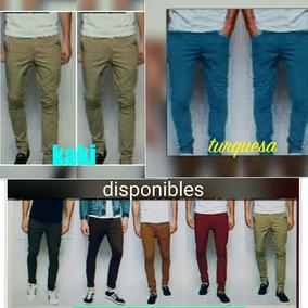 Pantalon De Caballero Moda Slim Fit