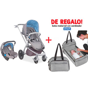 Coche Para Bebe C/silla Para Auto Epic Infanti + Regalo