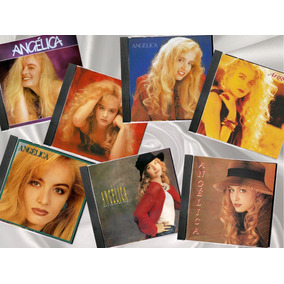 7 Cds Angélica 1988 A 1994 - Edição Trilhas & Afins