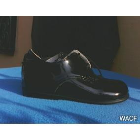 Zapatos Patentes Para Niños Talla 25 Marca Cobra Nuevo