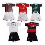 Conjunto Infantil Vasco Flamengo Fluminense Botafogo Real