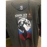 Camisa John John Nova Original Masculina Grife Preta Desbot.