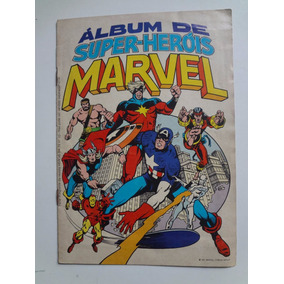 Album De Figurinhas Super-herois Marvel Completo