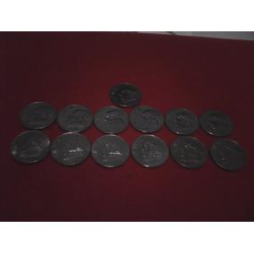 Coleccion De Monedas De $1 Un Peso De 1970 A 1983 Morelos