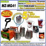 Sublimadora Estampadora Taza 4 Bases Intercambiables Moritzu