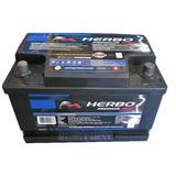 Bateria 12x75 Herbo Premium Max Para Auto 75 Amp