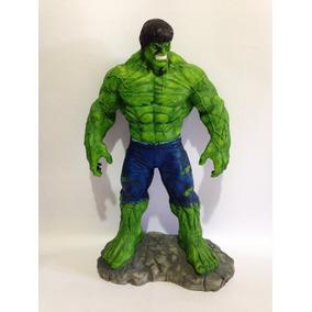 Hulk Estatua De Resina Vingadores