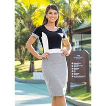 Vestido Feminino Moda Evangélica Clássico