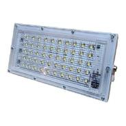 Reflector Led 50w Ultra Slim Ac175-265v Luz Fria Exterior