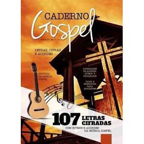 Caderno Gospel Letras, Cifras E Acordes Para Violão