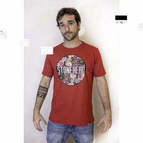 Camisa Camiseta Stonehead Flowers Nova Rock Thug Nine Swag