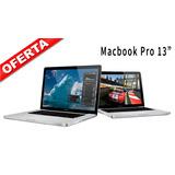 Macbook Pro 13 2012 Intel Core I7 En Oferta + Envío Gratis!
