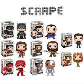 Funko Pop 6 Heroes Justice League Movie Aquaman Superman +