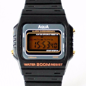 Relógio Aqua Aq-37 Original A Prova D