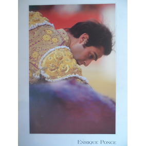 Enrique Ponce, Litografia, Cuadro, Artículos Taurinos, Toros