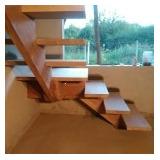 Escaleras De Madera Aereas Y Revestidas (fabrica)