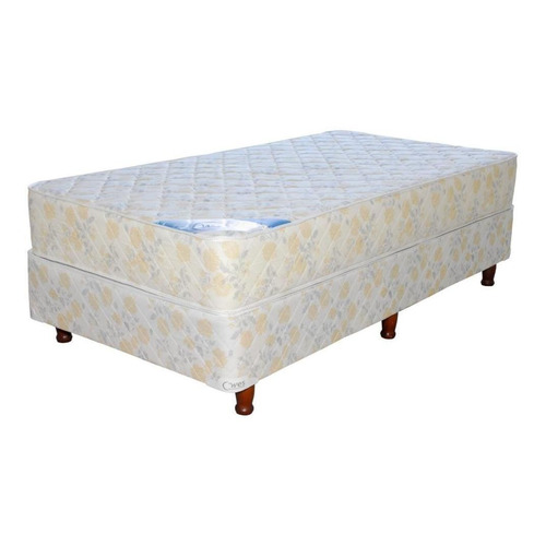 Sommier Wes Apolo 1 1/2 plaza 190x90cm  beige