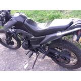 Moto Tt 125 Negra Recien Reparada Full Lantas Y Papeles