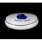 Caja Porcelana Florencia Buque Escuela Esmeralda Armada Chil