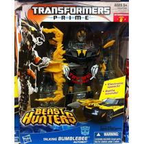 Transformers Prime Best Hunters Bumblebee Negro