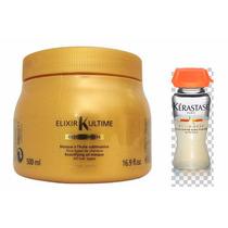 Kérastase Elixir & Nutritive - Máscara 500ml E 04 Ampolas